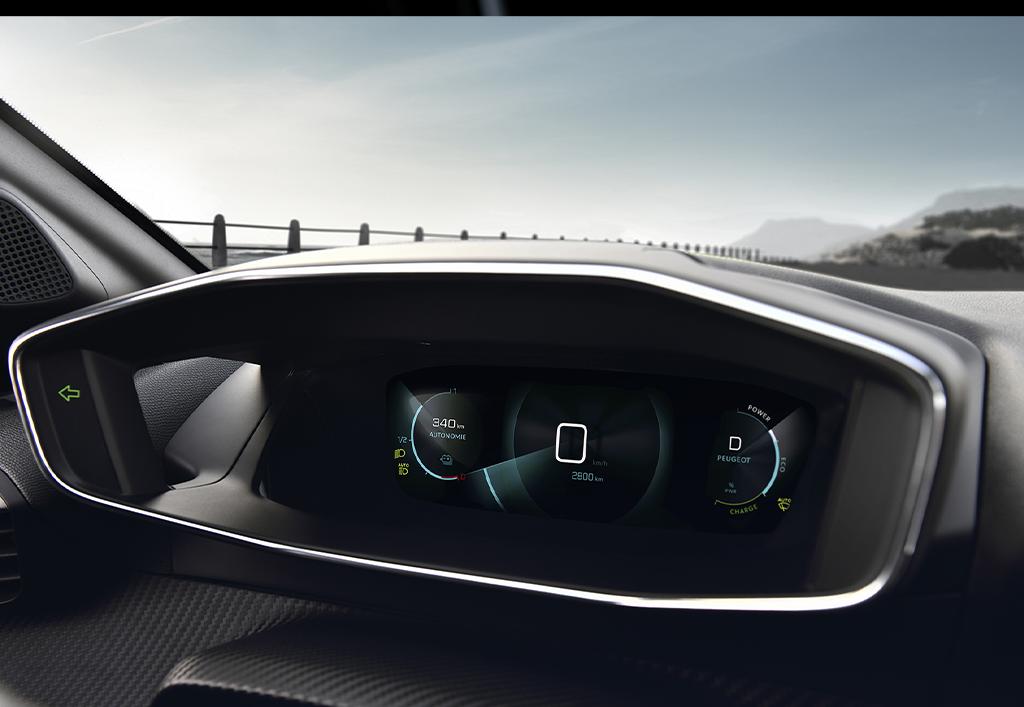Peugeot 308 hatchback interiør