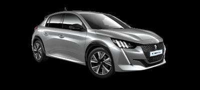 Peugeot 208 i grå