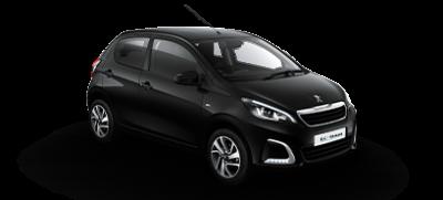 Peugeot 108 i sort