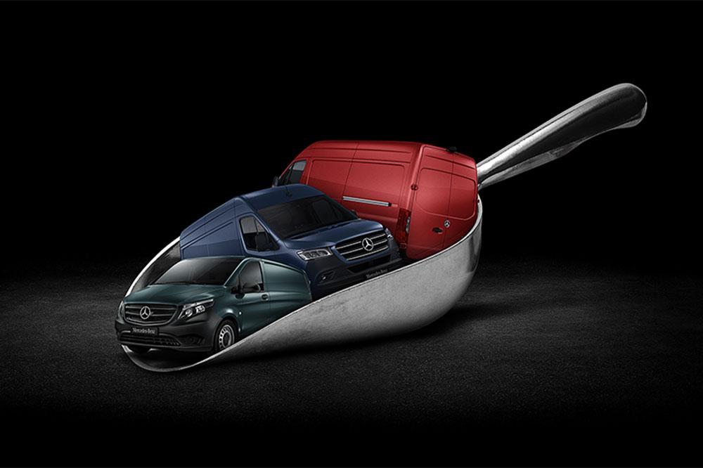 Mercedes-Benz varebiler kampagne