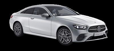 E-klasse coupé - sølv