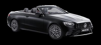 E-klasse cabriolet AMG - sort