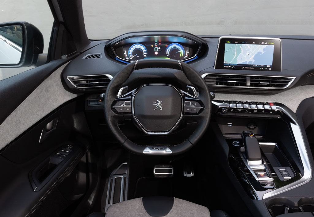 Peugeot 3008 interiør