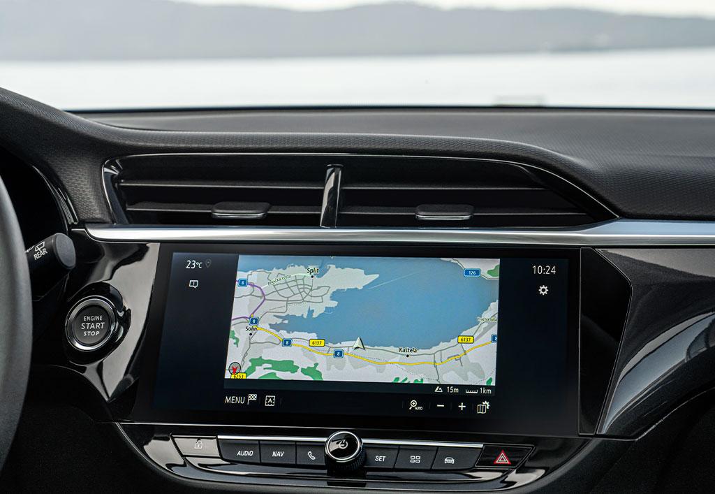 Opel Corsa interiør