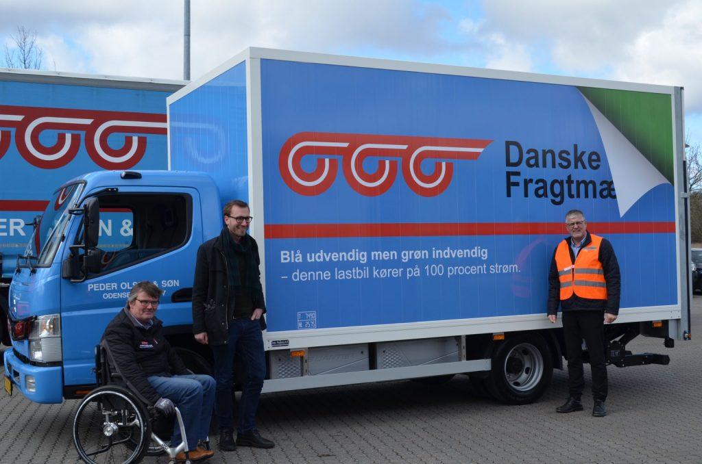 Første el-lastbil til Danske Fragtmænd