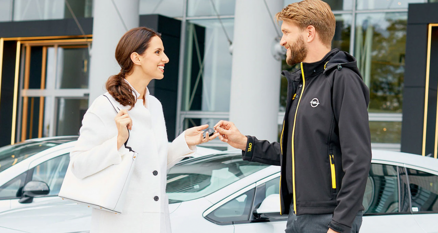 Opel bil aflevering