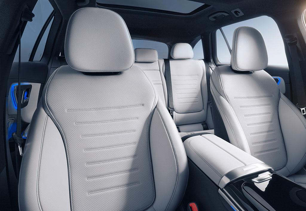 Ny Mercedes C-klasse stationcar interiør