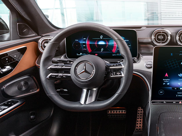 Ny Mercedes C-klasse sedan interiør