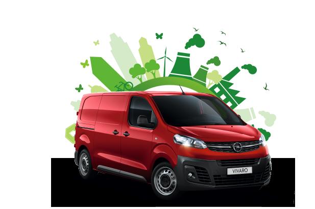 Opel e-Vivaro green zone