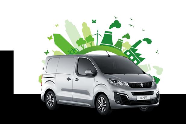 Peugeot e-Expert green zone