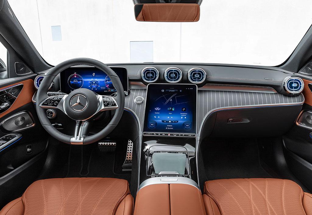 Mercedes C-Klasse All-Terrain interiør
