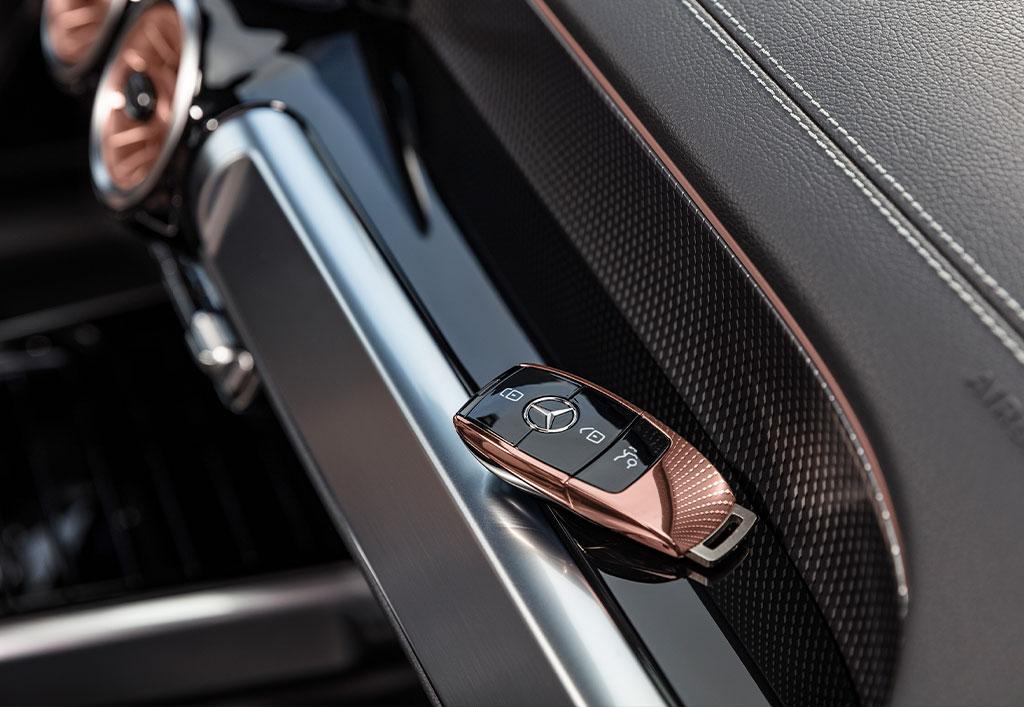 Mercedes-EQ EQB interiør