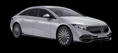Mercedes-EQ EQS - sølv