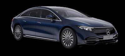 Mercedes-EQ EQS - nautic blå