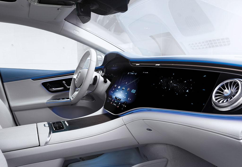 Mercedes-EQ EQE interiør