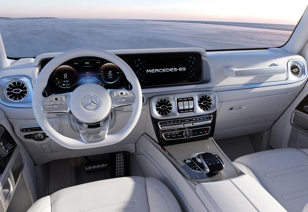 Mercedes-EQ EQG interiør