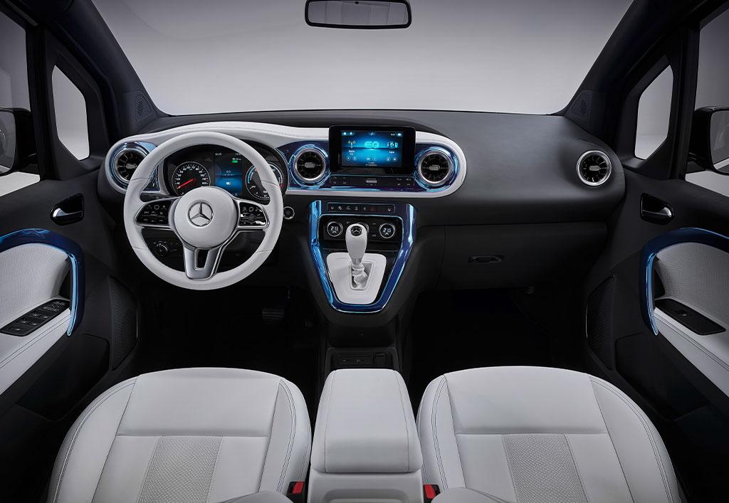 Mercedes-EQ EQT interiør